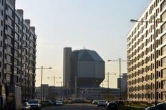 La bibliothèque nationale de la république de Bielorussie Image stock