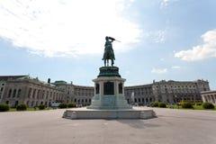 La bibliothèque nationale de Vienne photo libre de droits