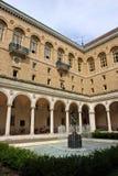 La bibliothèque publique de Boston est l'un des plus grands systèmes municipaux de bibliothèque publique aux Etats-Unis Photographie stock libre de droits