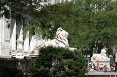 La bibliothèque publique de New York City Photos stock
