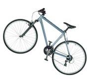 La bici di montagna ha isolato Immagine Stock Libera da Diritti