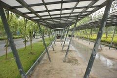La bici ha sparso accanto al giardino di Shenshan (wuhu, porcellana) Fotografia Stock Libera da Diritti