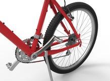 La bici innesta il primo piano royalty illustrazione gratis