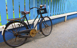La bicicleta Foto de archivo libre de regalías