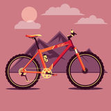 La bicicleta Imagen de archivo