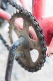Bicicleta de cadena Imágenes de archivo libres de regalías