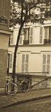 La bicicleta Montmartre Foto de archivo