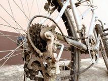 La bicicleta vieja Imágenes de archivo libres de regalías