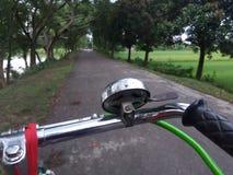La bicicletta fotografie stock