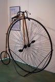La bicicletta del penny-farthing Immagini Stock