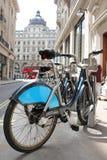 La bicicletta di Londra per noleggio Immagine Stock