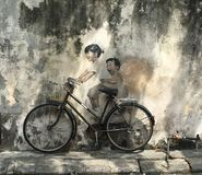 La Bicyclette Royalty Free Stock Photography