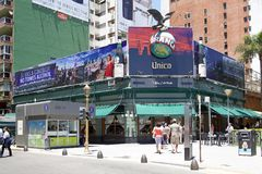 La Biela del caffè al Recoleta a Buenos Aires, Argentina Fotografie Stock Libere da Diritti