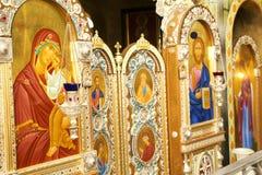 LA BIELORUSSIA, MINSK - 23 LUGLIO 2017 Chiesa del Virgin benedetto CI Fotografie Stock