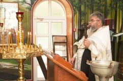 LA BIELORUSSIA, MINSK - 23 LUGLIO 2017 La chiesa del vergine benedetto Immagini Stock