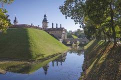 La Bielorussia, Nesvizh: Castello di Nesvizh Fotografie Stock
