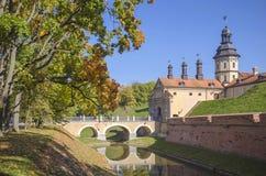 La Bielorussia, Nesvizh: Castello di Nesvizh Immagini Stock Libere da Diritti