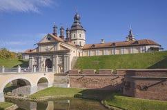 La Bielorussia, Nesvizh: Castello di Nesvizh Fotografia Stock