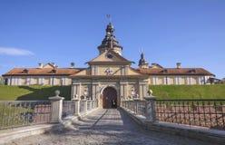 La Bielorussia, Nesvizh: Castello di Nesvizh Fotografia Stock Libera da Diritti