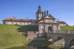 La Bielorussia, Nesvizh: Castello di Nesvizh Fotografie Stock Libere da Diritti