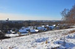 La Bielorussia: paesaggio rurale, Zaslavl Fotografie Stock Libere da Diritti