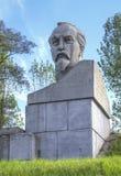 La Bielorussia, Stolbtsy: un monumento nella patria di Felix Dzerzhinsky Fotografia Stock Libera da Diritti