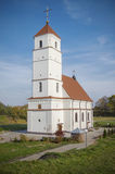 La Bielorussia, Zaslavl: Chiesa ortodossa di Spaso-Preobraženskij Fotografie Stock Libere da Diritti