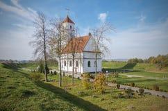 La Bielorussia, Zaslavl: Chiesa ortodossa di Spaso-Preobraženskij Fotografie Stock