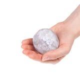 La bille de sel de halite Photo libre de droits