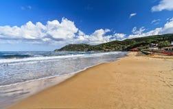 La Biodola海滩-厄尔巴岛小岛  库存图片