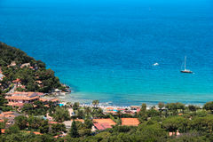 La Biodola beach, Procchio, Elba island. Italy Royalty Free Stock Photo
