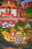 La biographie de Bouddha : Évasion du palais Photo libre de droits