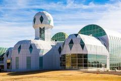 La biosfera 2 è una funzione di ricerca di scienza di prese di terra fotografia stock libera da diritti