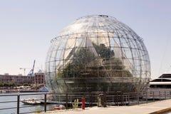 La biosfera, Genova, Italia Immagini Stock