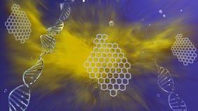 La biotechnologie de macro d'image Photos libres de droits