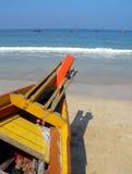 La Birmania. Spiaggia di Ngapali Immagini Stock Libere da Diritti