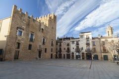 La Bisbal Emporda, Catalogne, Espagne Photographie stock libre de droits