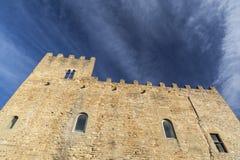 La Bisbal Emporda,Catalonia,Spain. Ancient building, castle, Castell Palau, La Bisbal Emporda, Costa Brava, province Girona, Catalonia Stock Photos