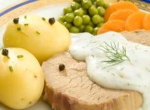 La bistecca Fotografia Stock Libera da Diritti