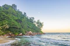 La Blague, Seychelles d'Anse Image libre de droits