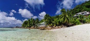 La Blague, Seychelles d'Anse Photos stock