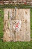 La blanco para el tiro de jabalina Foto de archivo libre de regalías