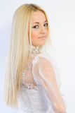 La blonde Stockfotos