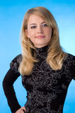 La blonde de beauté. Photographie stock libre de droits
