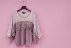 La blusa está en estilo indio Foto de archivo libre de regalías
