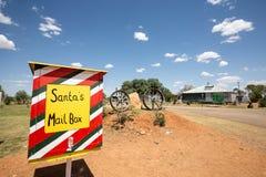 La boîte aux lettres de Santa Photo libre de droits