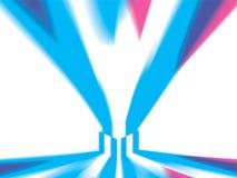 La boîte lumineuse, brille dans toutes les directions illustration libre de droits