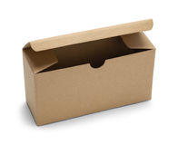 La boîte petite s'ouvrent Photos stock