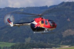 La BO 105 Photo stock