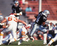 La BO Jackson Los Angeles Raiders Immagine Stock